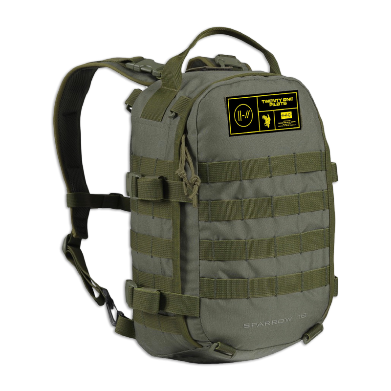 Army Straps Backpack
