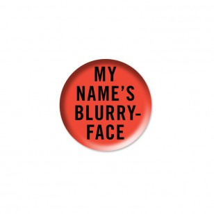 My Name's Blurryface Button