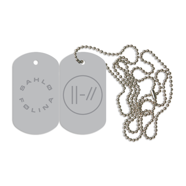 Sahlo Folina Dog Tag
