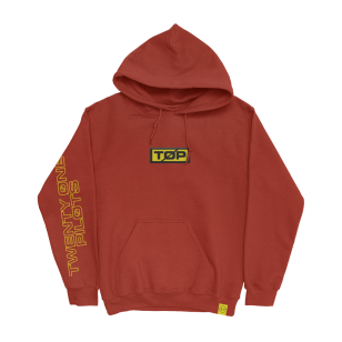 Patch Hood Holiday Pullover