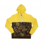 Color Block Hoodie (Yellow)