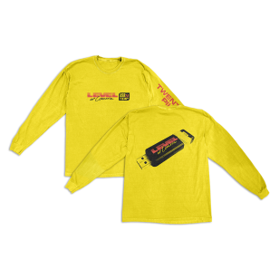 Yellow Tech Long Sleeve T-Shirt