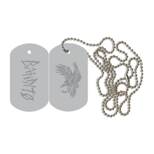 Bandito Eagle Dog Tag