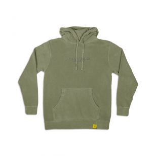 Embroidered Logo Hoodie (green)