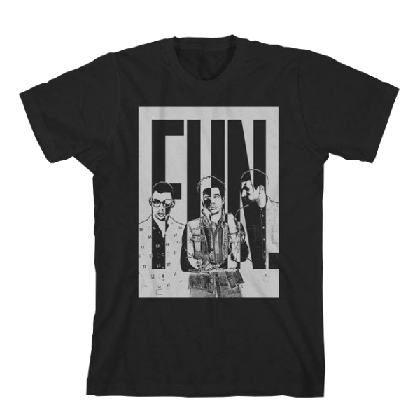 Fun Black Invert T-Shirt
