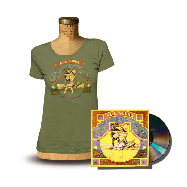 Homegrown Womens T-Shirt + CD