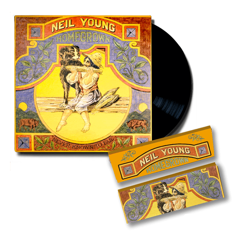"""Never Known to Fail"" Rolling Papers (Regular) + Vinyl"