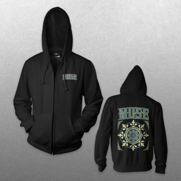 Tiled Zip Hoodie - Muse Official Store