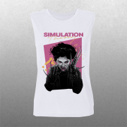 Simulation Theory 80's Nails Muscle Tank