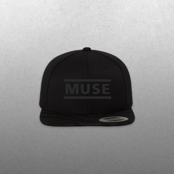 Muse Black Clean Logo Hat - Muse Official Store