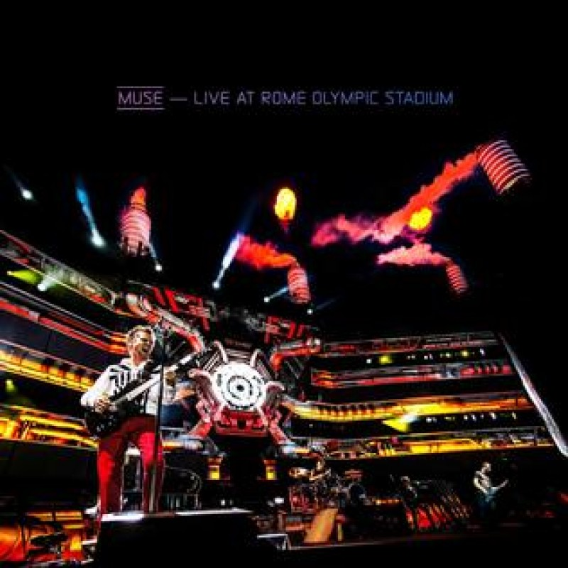 Live At Rome Olympic Stadium CD + Blu-Ray
