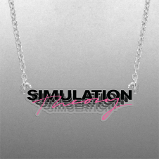 Simulation Theory Necklace
