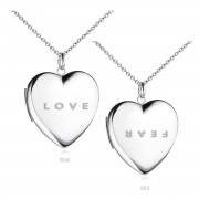 LOVE + FEAR Necklace