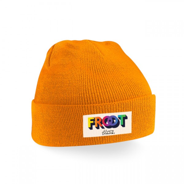 FROOT of the month beanie (orange)