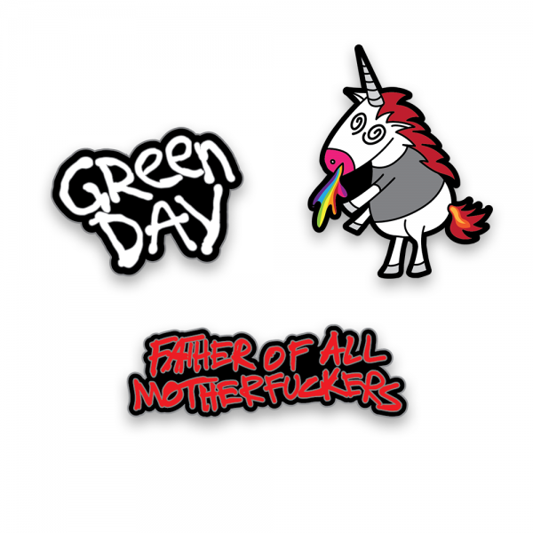 Father of All... Enamel Pin Set