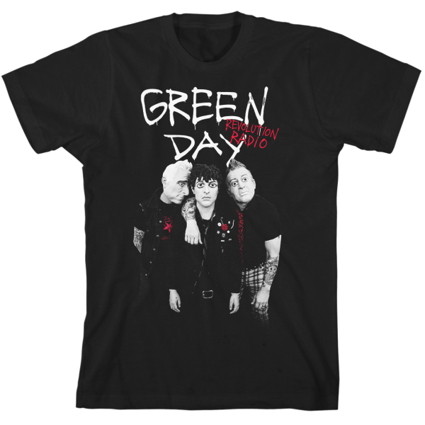 Green Day Red Hot T-Shirt