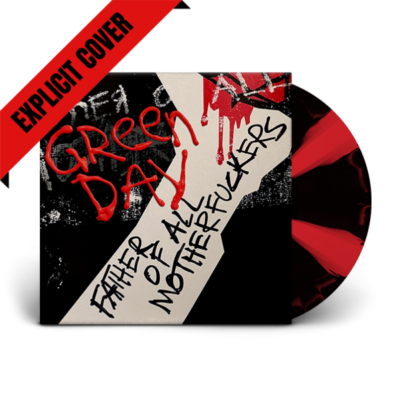 Father of All... Limited Edition Explicit Cover Red/Black Vinyl LP