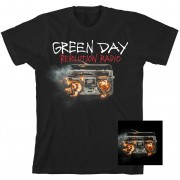 GREEN DAY Revolution Radio T-Shirt + CD