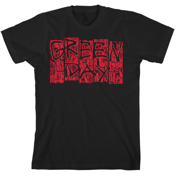 Green Day Mural T-Shirt