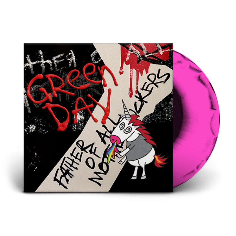 Father of All... Limited Edition Pink/Black Vinyl LP