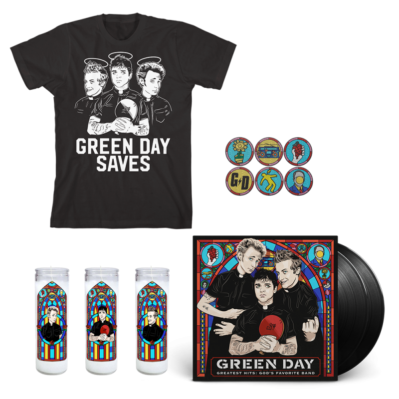 Disciple Vinyl Bundle - Green Day