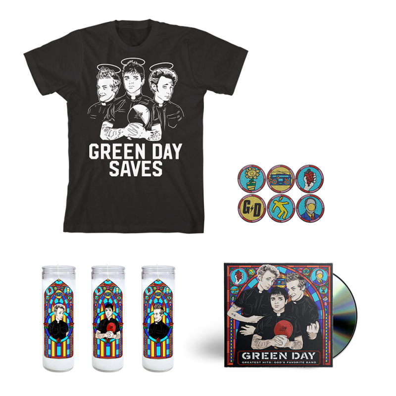 Disciple CD Bundle - Green Day