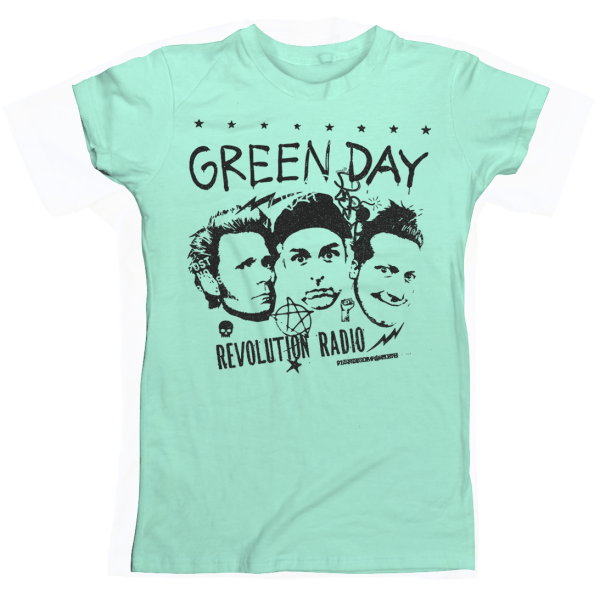 Green Day Photo Collage Women's T-Shirt