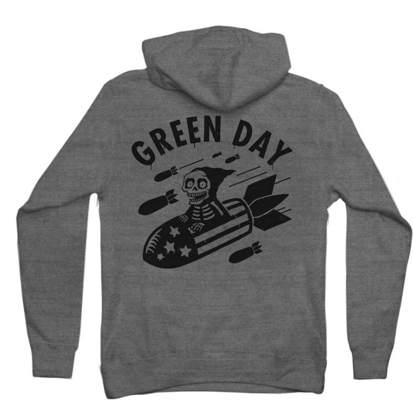 Green Day Scary Bombs Hoodie