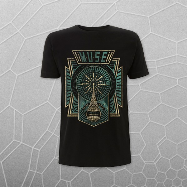 Brussels 16th Tour T-Shirt