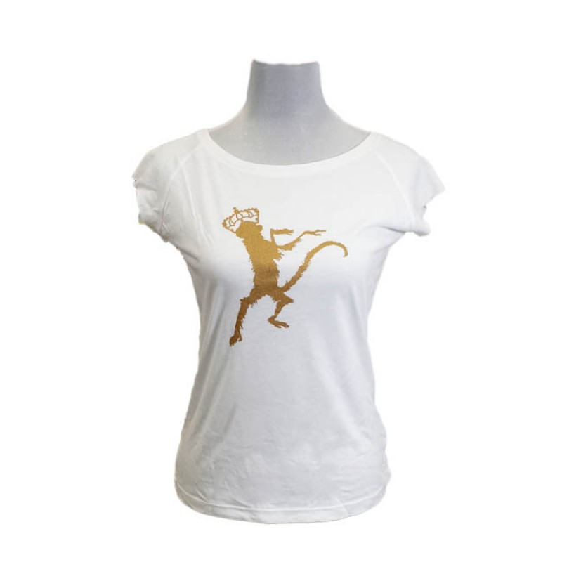 Monkey Print Womens T-Shirt