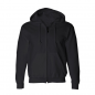 James Blunt Black Footprint Zip Hoody