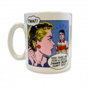 Right James Blunt Pop Art Mug