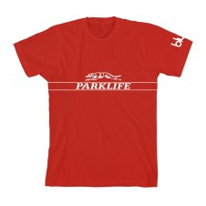 Parklife Greyhound T-Shirt Red