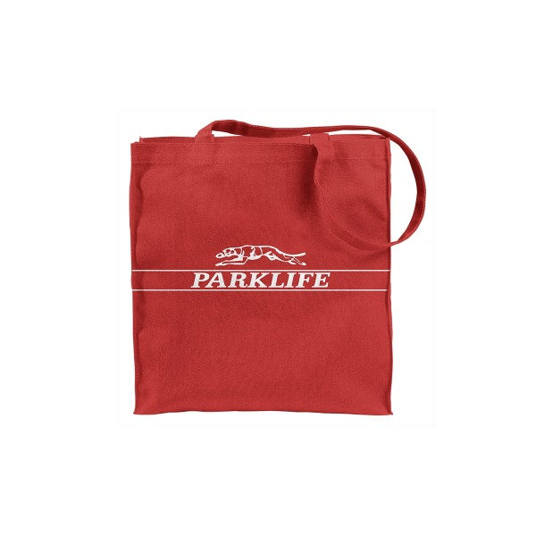 Parklife Greyhound Tote Red