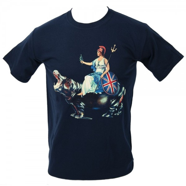 Blur Hyde Park Event Navy T-Shirt