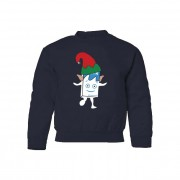 Milky Christmas Elf Kids Jumper