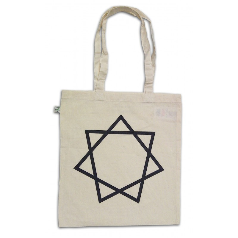 Heptagram Tote Bag