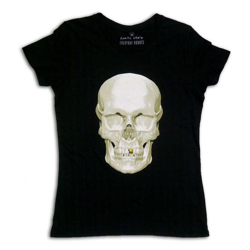 Skull Ladies Black T-shirt
