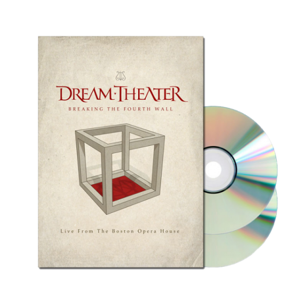 Breaking The Fourth Wall (Live From The Boston Opera House) 2xDVD