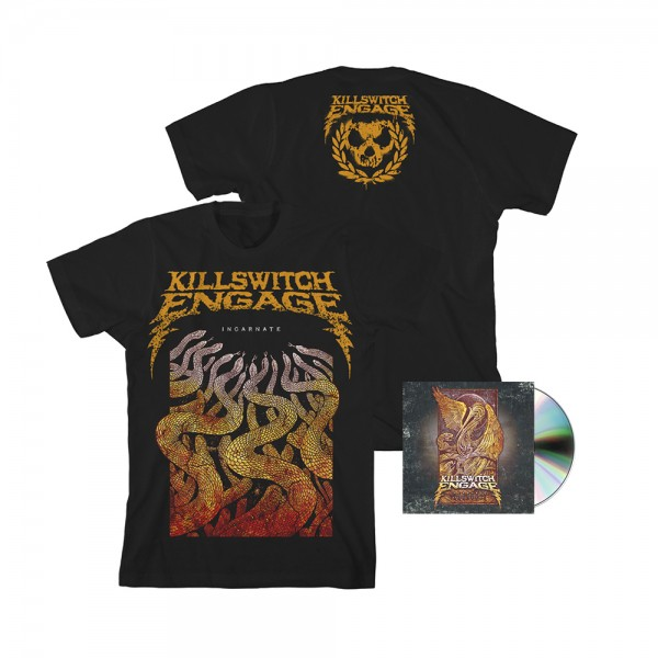 Killswitch Engage Incarnate + T-Shirt Bundle