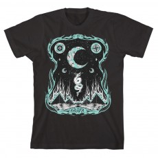 Dragons Dwell Black T-Shirt
