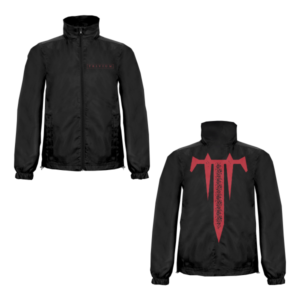 Trivium Box Logo Windbreaker