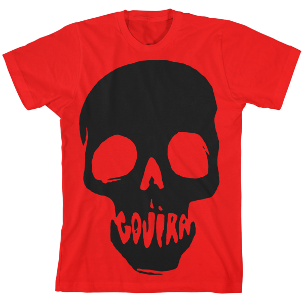 Gojira Red Mouth Skull T-Shirt