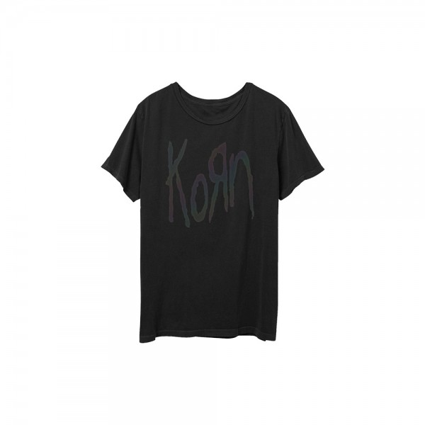 Korn Oil Slick Logo T-Shirt