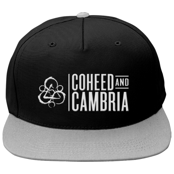 Coheed and Cambria Stacked Logo Hat Cap