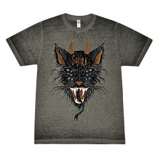 6 Eyed Beast Acid Washed T-Shirt
