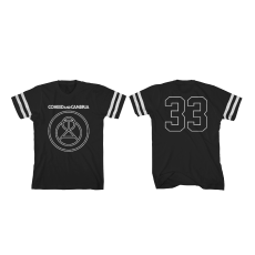 Coheed and Cambria Outline Symbol Football Shirt Black