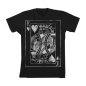 King of Hearts Basic T-Shirt Black