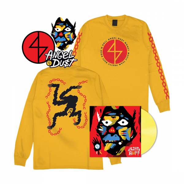 Pretty Buff Longsleeve Vinyl Bundle