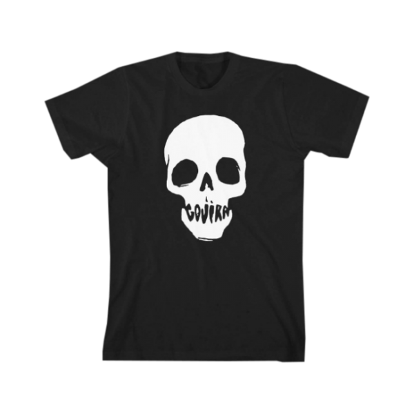 Mouth Skull T-Shirt Black